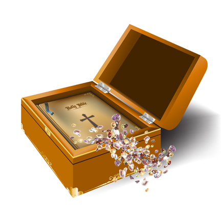 Image result for gods word a treasure chest