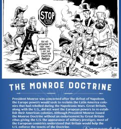 Monroe Doctrine Political Cartoon Worksheet   Printable Worksheets and  Activities for Teachers [ 1710 x 1490 Pixel ]