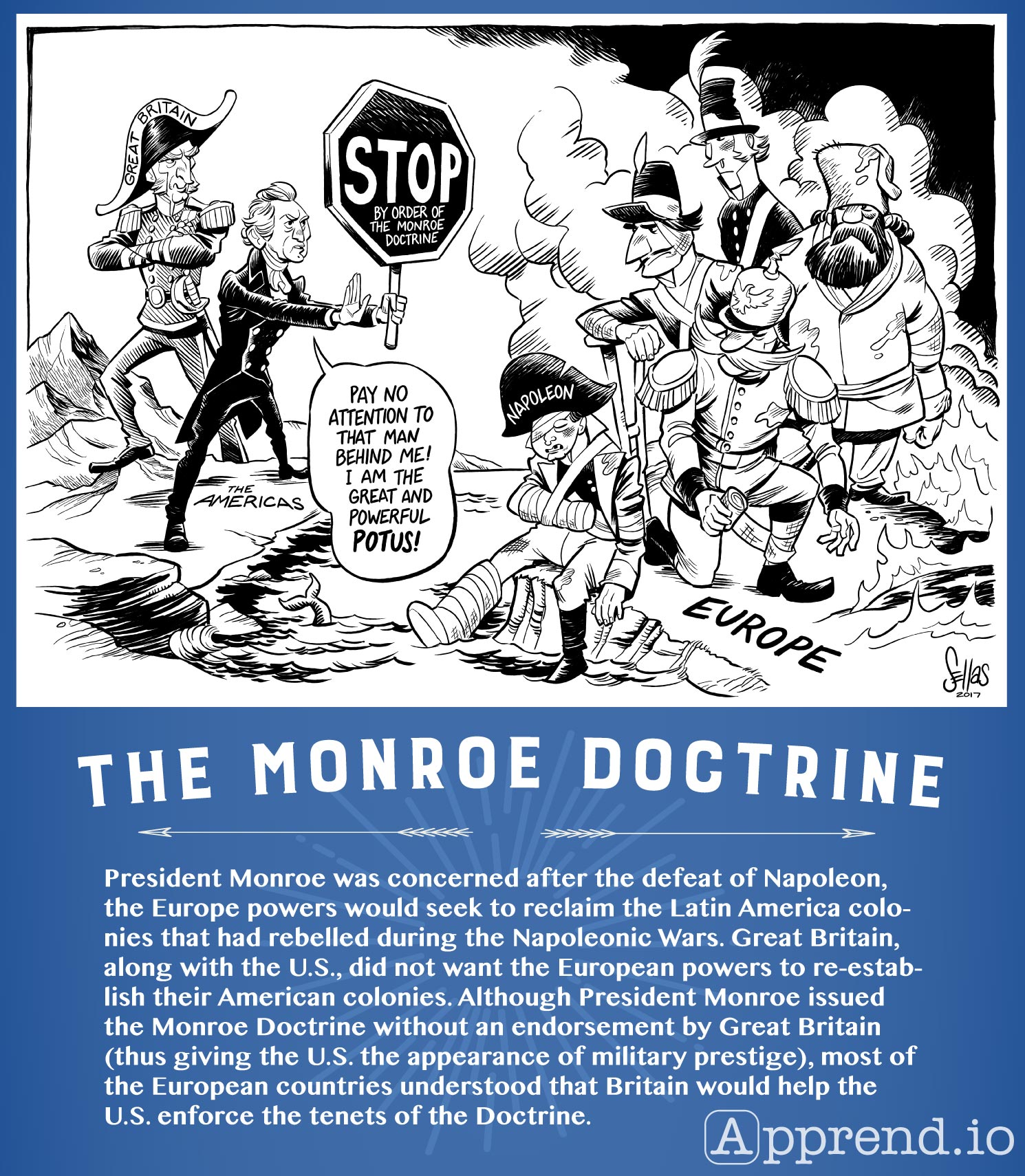 hight resolution of Monroe Doctrine Political Cartoon Worksheet   Printable Worksheets and  Activities for Teachers