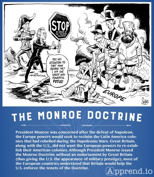 small resolution of Monroe Doctrine Political Cartoon Worksheet   Printable Worksheets and  Activities for Teachers