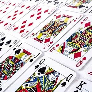 Système PAO - cartes à jouer triées et classées