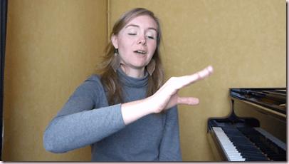 Exercice d'échauffement des doigts pour le piano