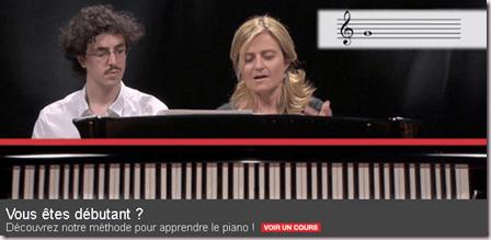 Cours débutant piano