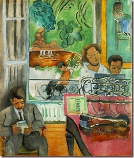 La leçon de piano de Matisse