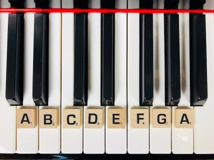 La notation internationale au piano
