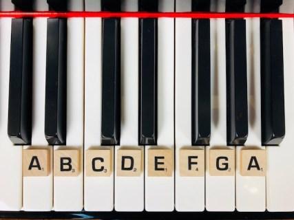 La notation internationale au piano