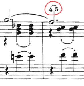 La substitution au piano