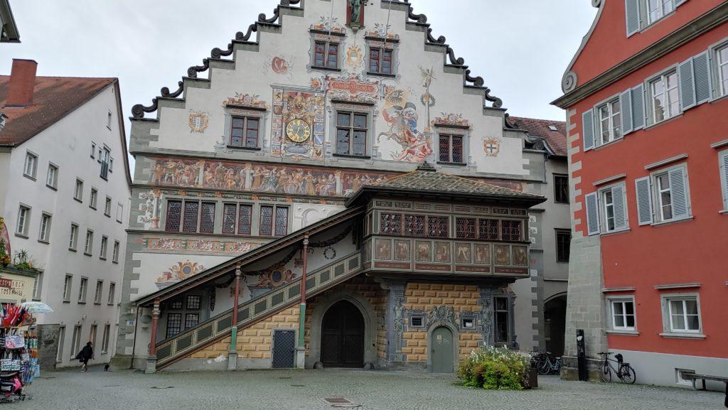 Lindau_Maison typique de Bavière_Allemagne