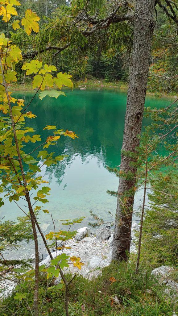 Lac d'Eibsee (Bavière, Allemagne)