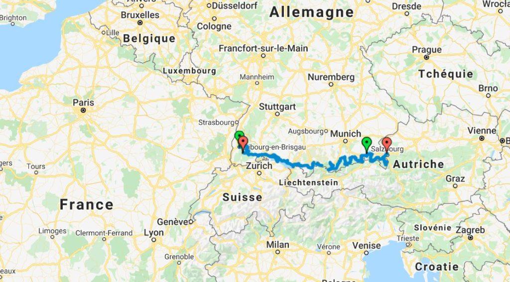 Itineraire Allemagne_Forêt-Noire_Bavière_vue générale