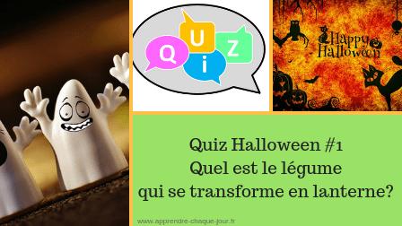 Quiz Halloween lanterne