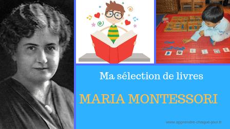 liste livres Montessori