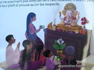 offrande au Dieu éléphant
