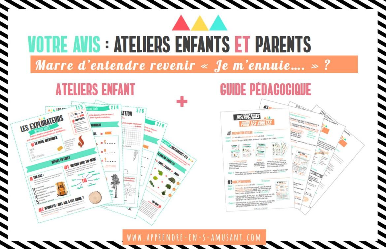 Facebook Ateliers Sondage