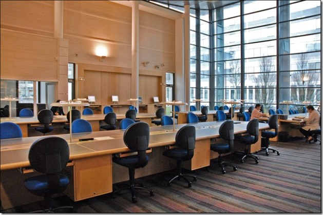 salle de lecture Archives Départementales