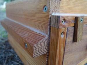 ruche en bois