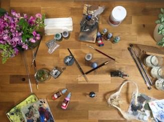 Matériel pour débuter en peinture sur figurine