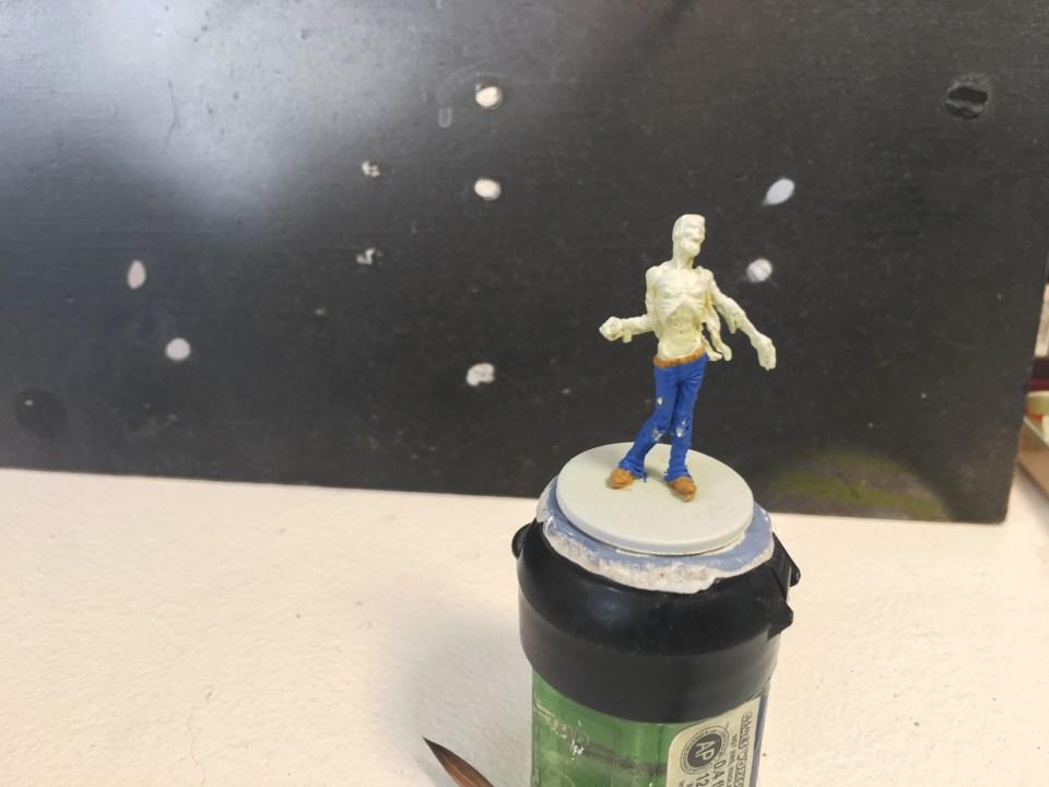 Peindre le cuir zombie walker zombicide