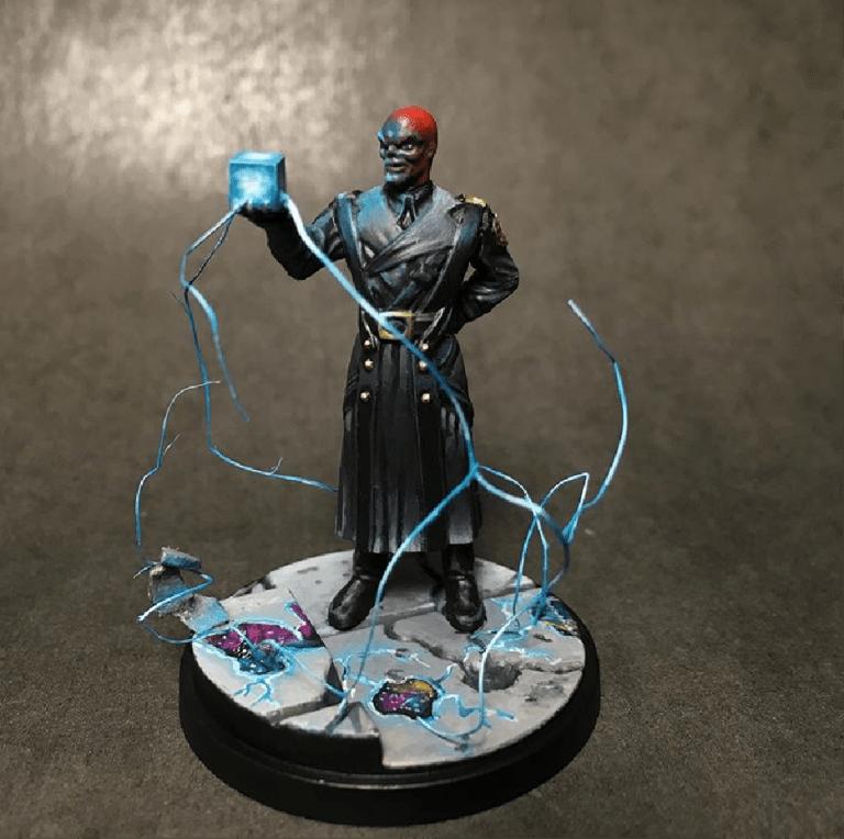 Peindre Crâne rouge Marvel Crisis Protocole
