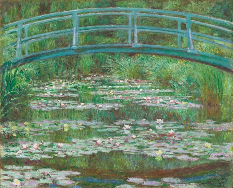 Le pont japonais de Claude Monet