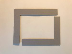 Cadre carton modulable pour mieux visualiser votre composition