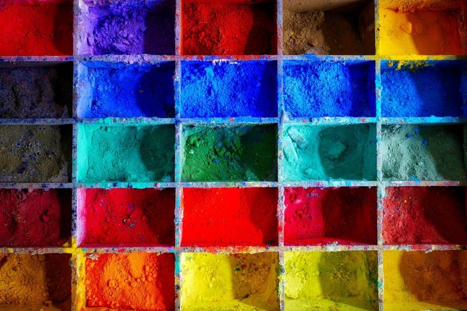 Pigments de couleurs pour la formulation de peinture