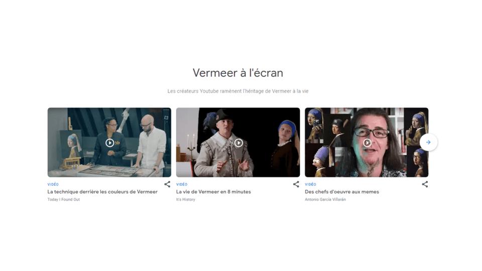 Des vidéos sur Johannes Vermeer
