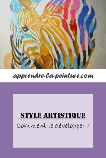 Cliquez ici pour découvrir l'article et apprendre comment développer votre style artistique.