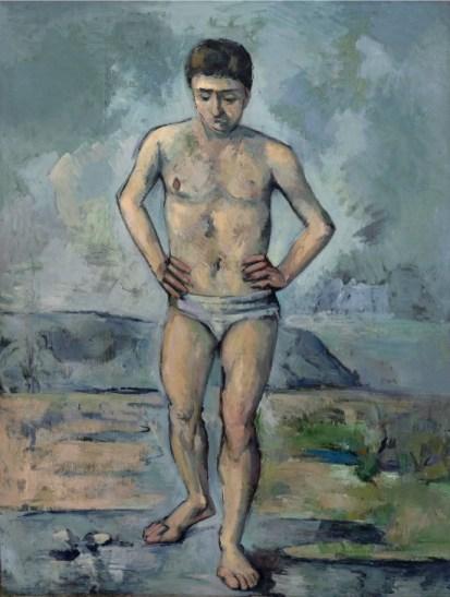 Le baigneur - Paul Cézanne