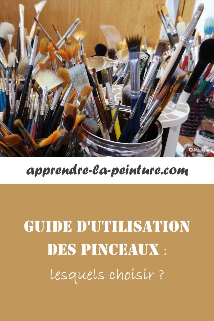 Guide d'utilisation des pinceaux : lesquels choisir ?