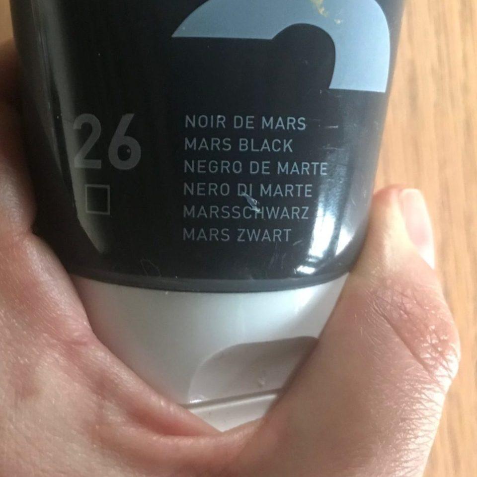 Noir de Mars