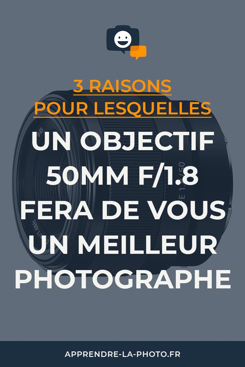 3 raisons pour lesquelles un objectif 50mm f/1.8 fera de vous un meilleur photographe