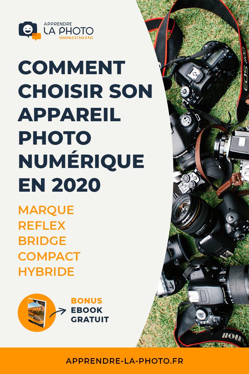 Comment choisir son appareil photo numérique en 2020 : marque ? Reflex, bridge, compact ou hybride ?
