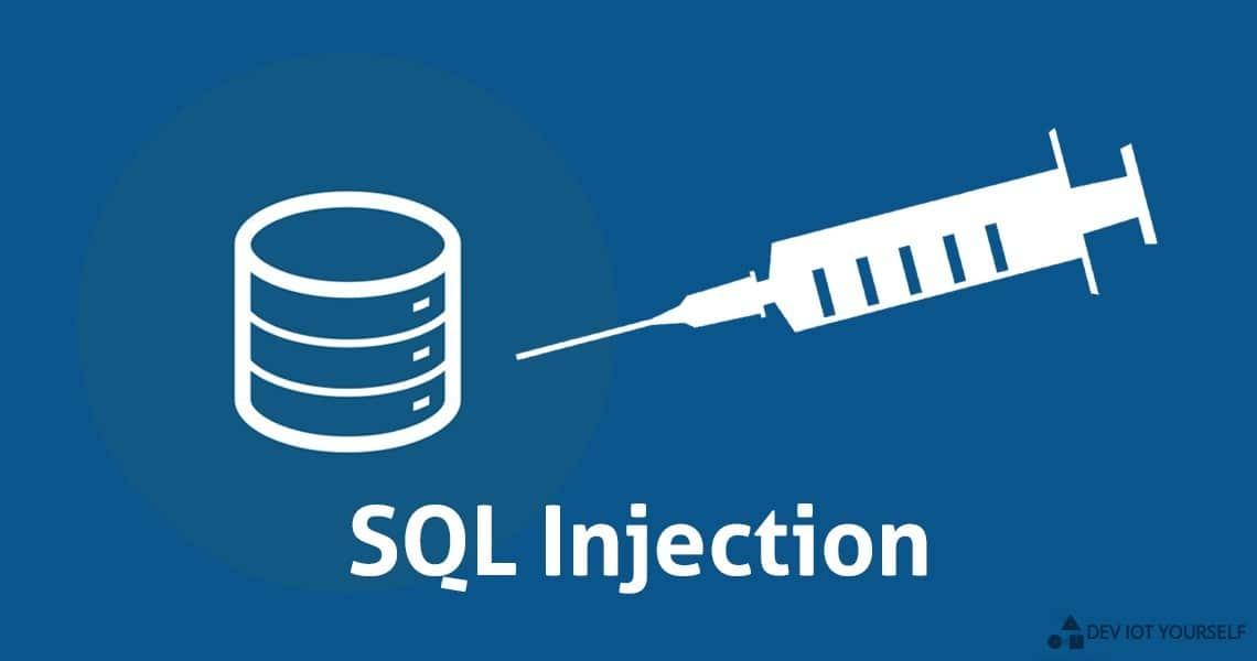 Découvrez les dangers des injections SQL 1
