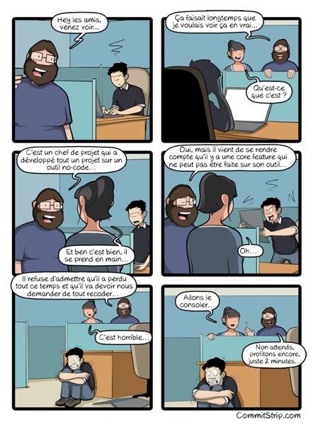 Commitstrip no code