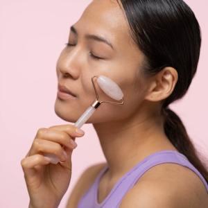 roller visage massage