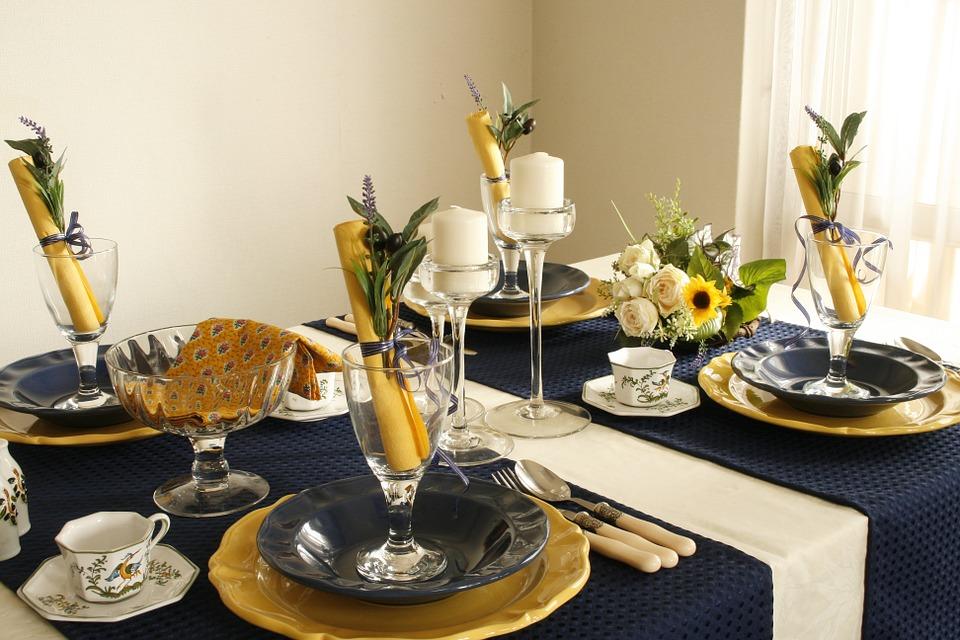 Art de la table décoration mariage