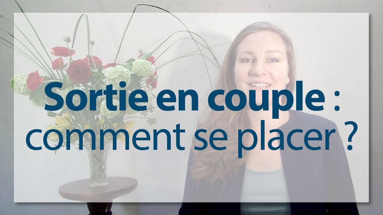 Le on de galanterie lors des sorties entre couples - Comment placer les verres sur une table ...