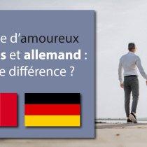 Couple d'amoureux français et allemand : quelle différence ?