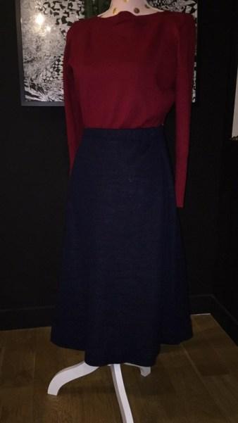 jupe 2 jupe 1 jupe midi comment s'habiller comme une lady femme élégance décence pas cher minimalisme kate middleton robe ok