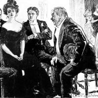 Il faut avoir fait Math Sup pour comprendre les règles des invitations à rendre dans les années 1900 ! – C'est pourquoi seule l'élite se pliait à ce calendrier social.