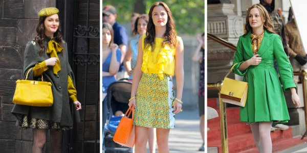 style preppy blair gossip girl chic bcbg exemple