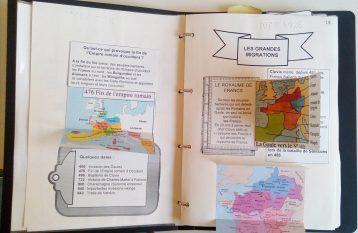 Notre Lapbook Histoire de France