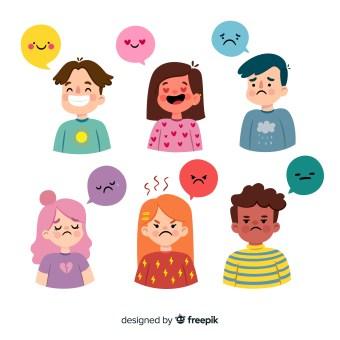 Les émotions d'un enfant