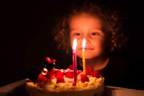 Photo gâteau d'anniversaire