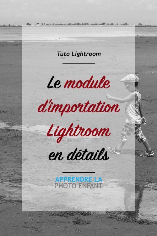 importation lightroom