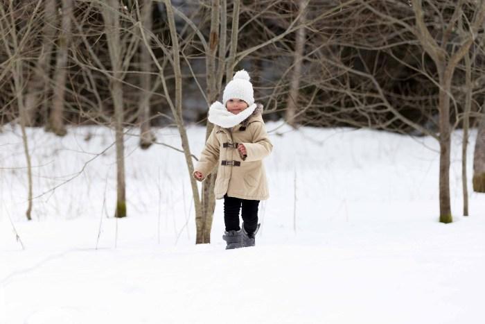 photo dans la neige