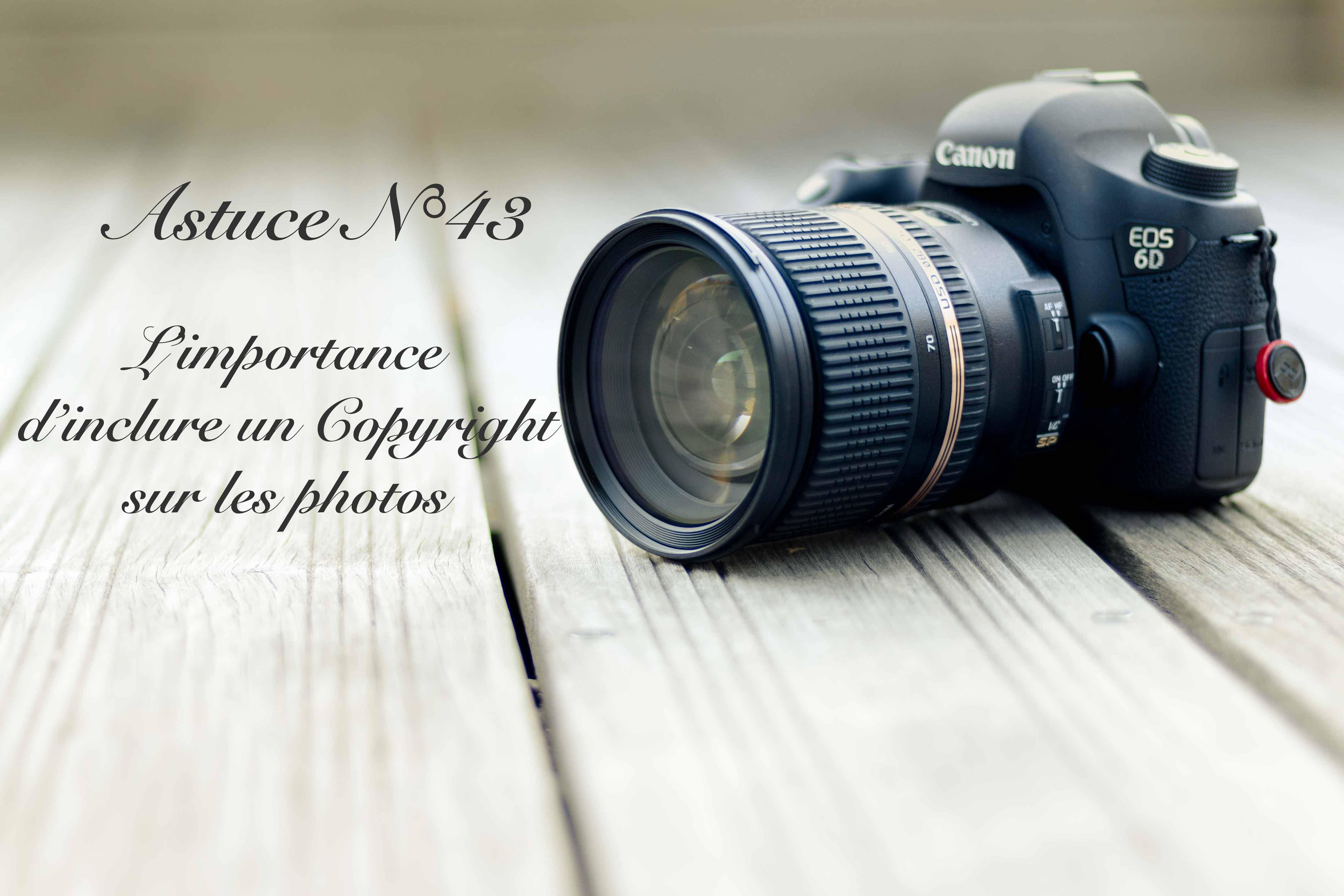 L'importance d'inclure un Copyright sur les photos (43/52)