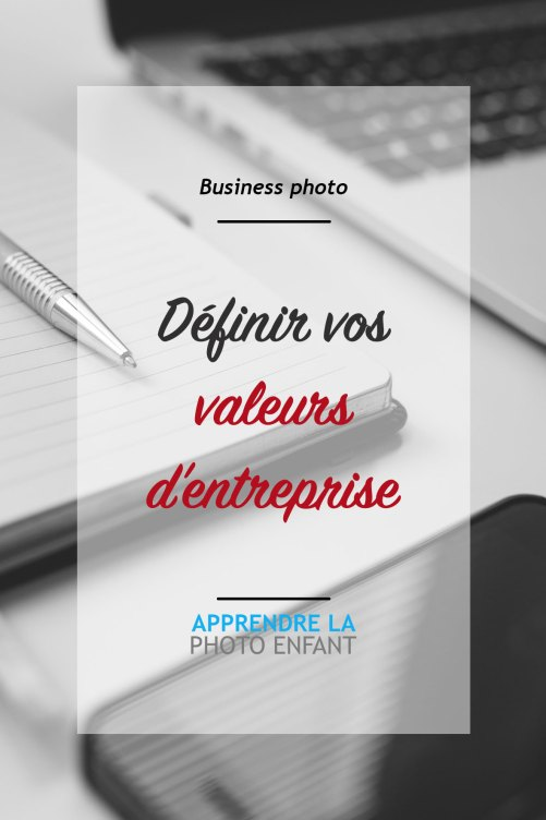valeurs d'entreprise
