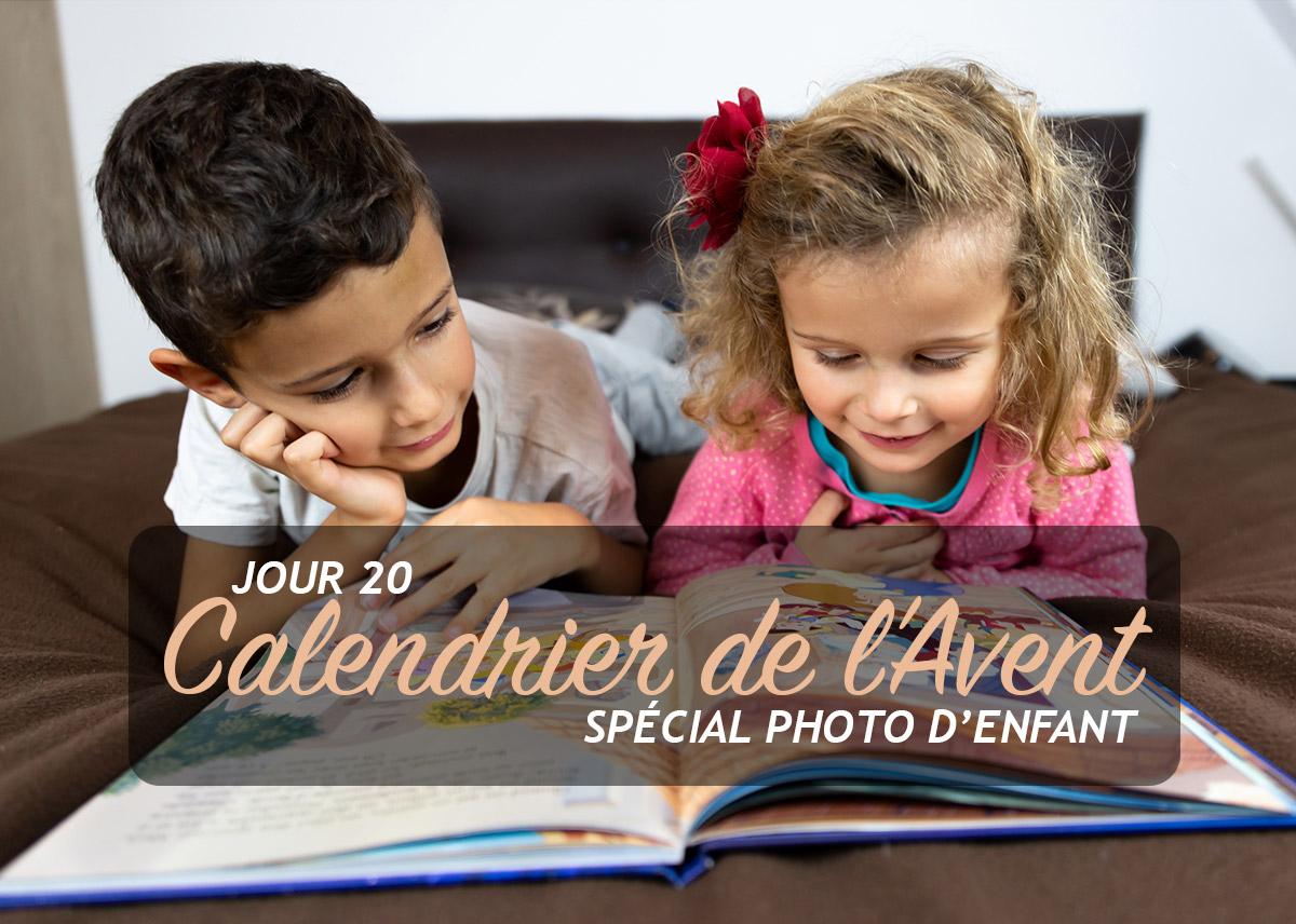 Jour 20 – Calendrier de l'Avent spécial Photo d'enfant 2018